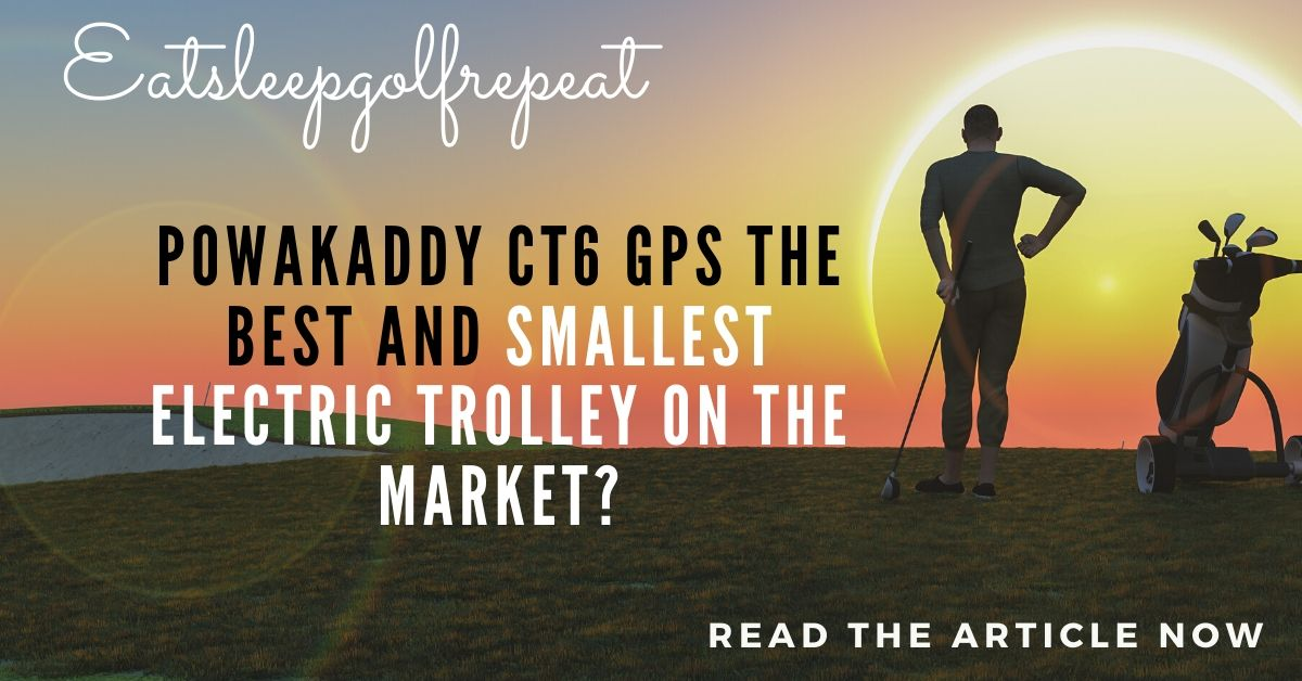 PowaKaddy CT6 GPS the Best and Smallest Electric Trolley on the Market?