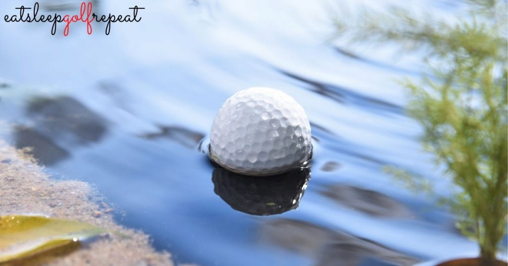 Golf Ball in Water