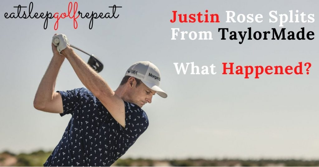Justin Roe Splits From TaylorMade