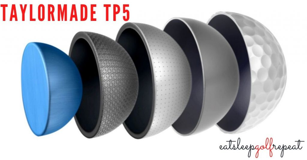 TaylorMade TP5 Core Image